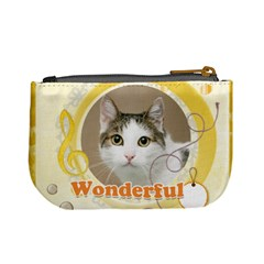Wonfderful Cat By Joely   Mini Coin Purse   O6225ubi2eh9   Www Artscow Com Back