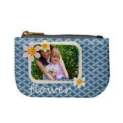 Flower Kids By Joely   Mini Coin Purse   Y92cz6cz56p8   Www Artscow Com Front