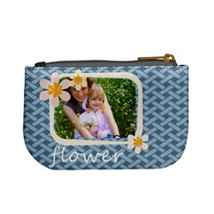 Flower Kids By Joely   Mini Coin Purse   Y92cz6cz56p8   Www Artscow Com Back