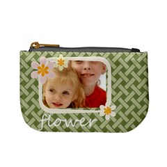 Flower Kids By Joely   Mini Coin Purse   7dm8goejfbnc   Www Artscow Com Front