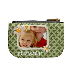 Flower Kids By Joely   Mini Coin Purse   7dm8goejfbnc   Www Artscow Com Back