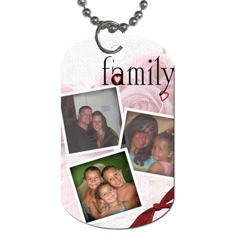 Bella By Melissa   Dog Tag (one Side)   Ip6mlwiwjl8f   Www Artscow Com Front