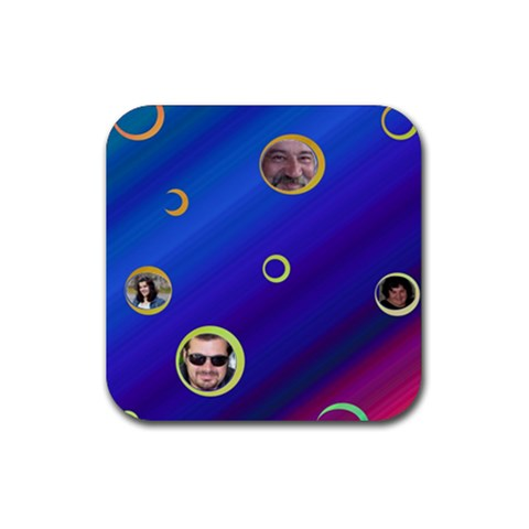 Coaster We 5 By Galya   Rubber Coaster (square)   Nirzodrydhb0   Www Artscow Com Front