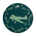 Airplane Ornament - Ornament (Round)