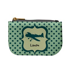 Plane Mini Coin Purse By Klh   Mini Coin Purse   63e35u20hlia   Www Artscow Com Front