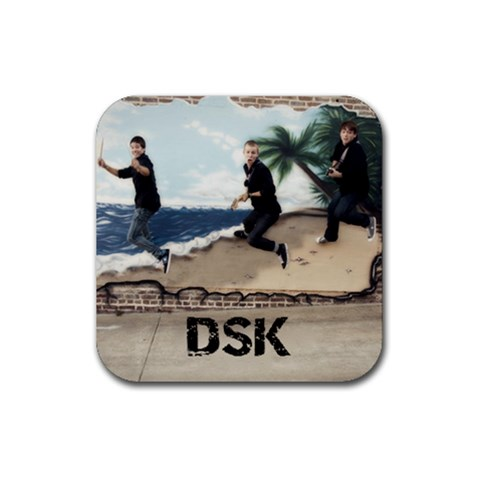 Dsk Coaster By Cindy   Rubber Coaster (square)   Itn4fpyh39a0   Www Artscow Com Front