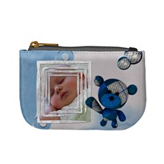 Baby Blue   Coin Purse By Carmensita   Mini Coin Purse   P7waf0rx96y5   Www Artscow Com Front