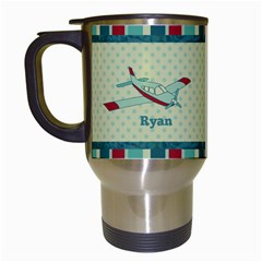 Airplane Travel Mug By Klh   Travel Mug (white)   Epezjf8yhp5j   Www Artscow Com Left