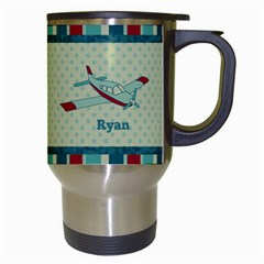 Airplane Travel Mug By Klh   Travel Mug (white)   Epezjf8yhp5j   Www Artscow Com Right