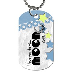 Baby Blue   Tag By Carmensita   Dog Tag (two Sides)   E4q2lrte092c   Www Artscow Com Back