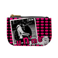 You And Me   Mini Coin Purse By Carmensita   Mini Coin Purse   Aa3di96d6mhd   Www Artscow Com Front