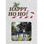 Happy Ho Ho Christmas Card - Greeting Card 5  x 7