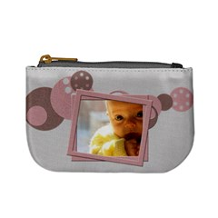 Baby Cute Pink   Mini Coin Purse By Carmensita   Mini Coin Purse   Bu5bvgdbolnm   Www Artscow Com Front