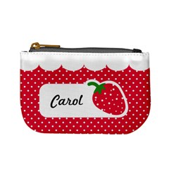 Strawberries 01 By Carol   Mini Coin Purse   Ft4bus2mzviy   Www Artscow Com Front