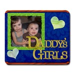 Daddy s Girls Customizable - Large Mousepad