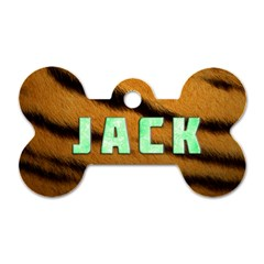 Jack   Dog Tag By Carmensita   Dog Tag Bone (two Sides)   N25k3m3tuwxb   Www Artscow Com Front
