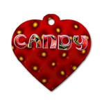 CANDY - TAG - Dog Tag Heart (Two Sides)