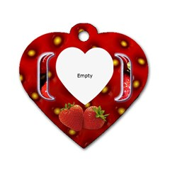 Candy   Tag By Carmensita   Dog Tag Heart (two Sides)   Gplax25fkp6f   Www Artscow Com Back