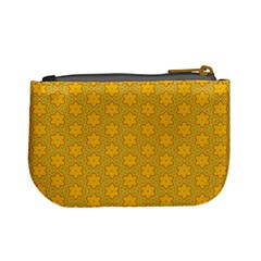 Casual  Purse Yellow Flowers  By Jorge   Mini Coin Purse   Yxafzdj4gw49   Www Artscow Com Back