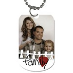 2 side Family tag - Dog Tag (Two Sides)