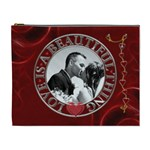 Love is a Beautiful Thing XL Cosmetic Bag - Cosmetic Bag (XL)