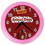 teacher gift wall clock for room - Color Wall Clock