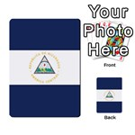 Flag_Nicaragua2 Multi-purpose Cards (Rectangle)