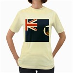 Flag_Montserrat Women s Yellow T-Shirt