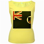 Flag_Montserrat Women s Yellow Tank Top