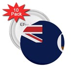 Flag_Montserrat 2.25  Button (10 pack)