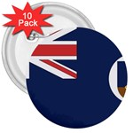 Flag_Montserrat 3  Button (10 pack)