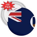 Flag_Montserrat 3  Button (100 pack)