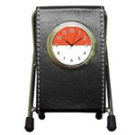 Flag_Monaco Pen Holder Desk Clock