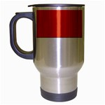 Flag_Monaco Travel Mug (Silver Gray)