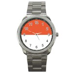 Flag_Monaco Sport Metal Watch