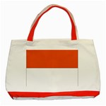 Flag_Monaco Classic Tote Bag (Red)