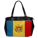Flag_Moldova Oversize Office Handbag (One Side)