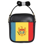 Flag_Moldova Girls Sling Bag