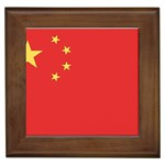 Flag_China Framed Tile