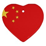 Flag_China Ornament (Heart)