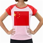 Flag_China Women s Cap Sleeve T-Shirt