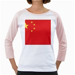 Flag_China Girly Raglan