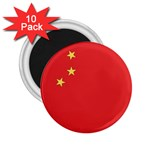 Flag_China 2.25  Magnet (10 pack)