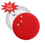 Flag_China 2.25  Button (100 pack)