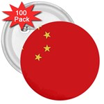 Flag_China 3  Button (100 pack)