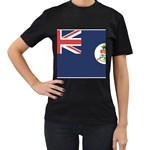 Flag_Cayman Islands Women s Black T-Shirt