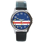 Flag_Cape Verde Round Metal Watch