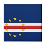 Flag_Cape Verde Tile Coaster