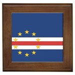Flag_Cape Verde Framed Tile