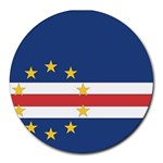 Flag_Cape Verde Round Mousepad